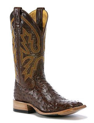 Rod Patrick Cowboy Classic Kango Tobac Full Quill Ostrich Boots