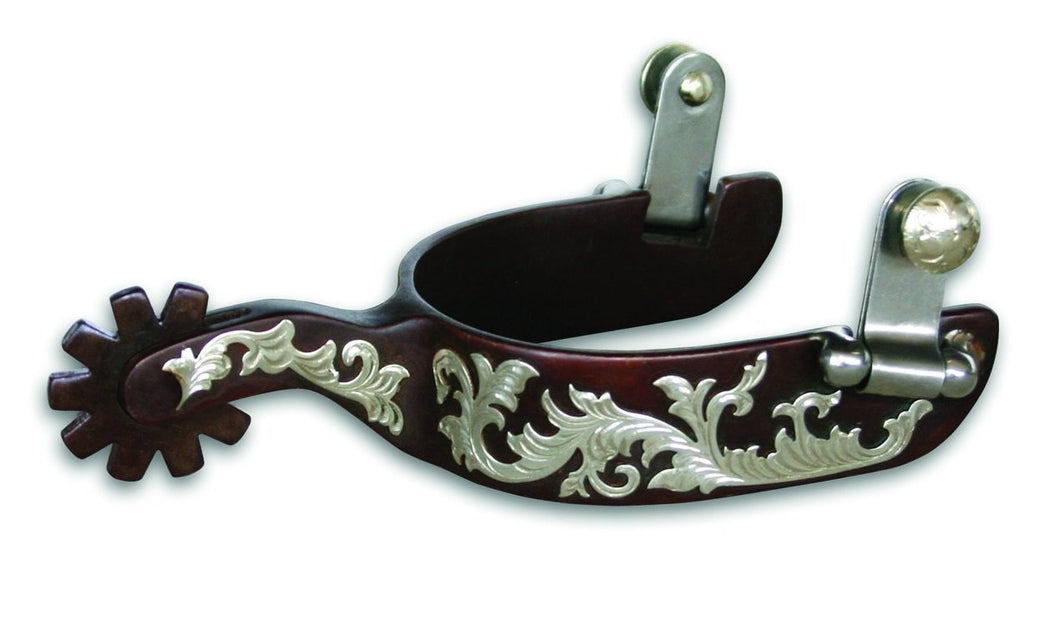 Pard's Western Shop Bob Avila Floral Spurs for Ladies AVSP300