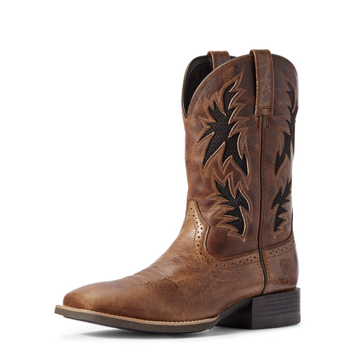 Ariat Dark Tan Sport Cool VentTEK Western Boots