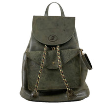 Backpack Flor Verde