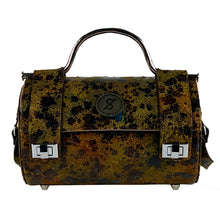 Duffel bag Carnaza verde tipo camuflaje