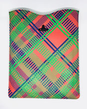 Ipad Case Techno Tartan