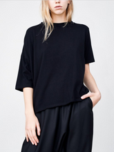 Playera Drop Shoulder Black