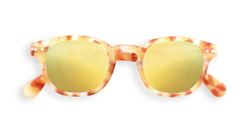 Lentes Kids C Sun Mirror Yellow Tortoise