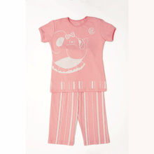 Pijama de niña elefante rosa 'Glow in the dark'