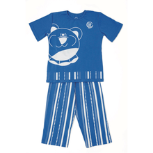 Pijama de niño oso azul 'Glow in the dark'