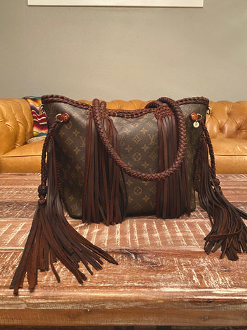Noir LAV Fringe MM Neverfull