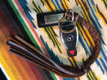 LAV Original Braided Key Ring with Louis Vuitton Hardware