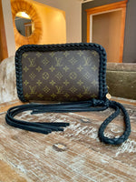 LAV Original Orsay Clutch Noir Braided