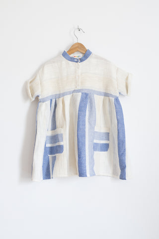Cotton/Linen Striped Kaftan