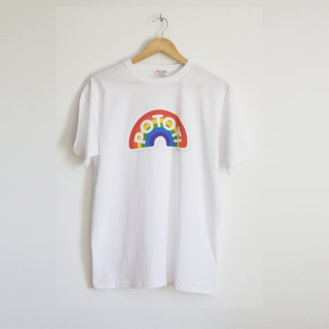 LOGO WHITE T-SHIRT ADULT