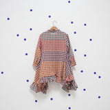Checked Cotton Dress