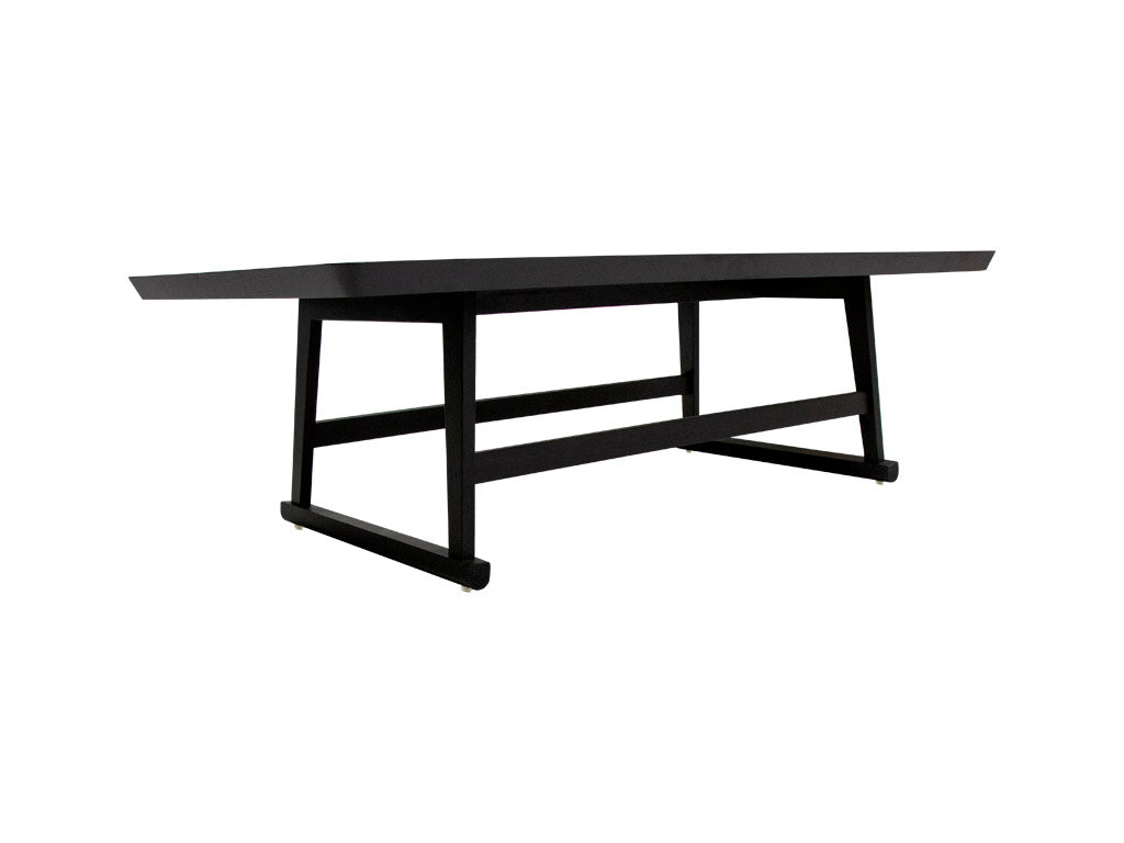 Mesa de centro rectangular black Cannes - Muebles Pergo