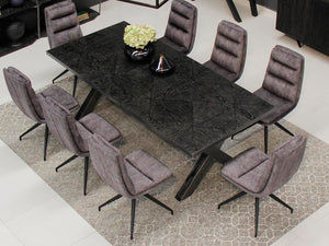 Set mesa comedor + 8 sillas Cambridge - Muebles Pergo