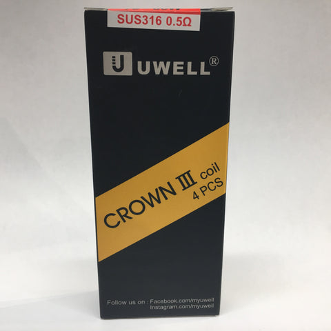 Uwell Crown 3 Replacement Coil (per piece)