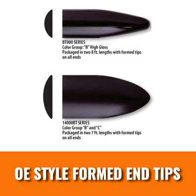 OE Styled Formed End Tips