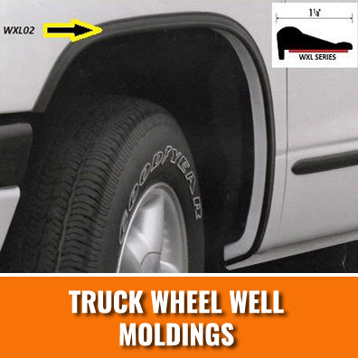 Truck Wheel Well Moldings