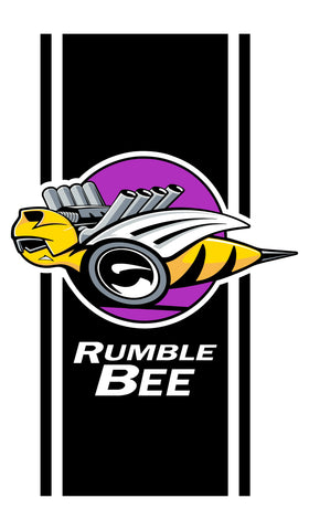 Dodge Rumble Bee box side decal #2440
