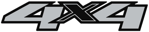 Chevy/GMC 4x4 Decal #3122