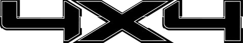 Ford 4x4 Decal #3144