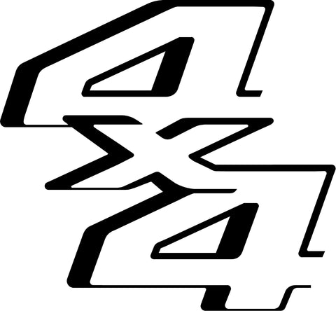 Ford Super Duty 4x4 Decal #3321