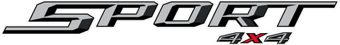 Ford Sport 4x4 Decal #3546