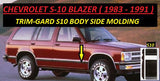 98S10-16  S10 / Blazer 1998 - C (Black / Chrome)