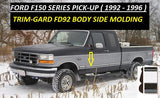 FD92-26  Ford F150 1992-1997 (Black / Chrome)