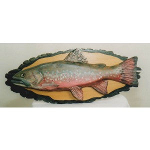 Brook Trout Plaque
