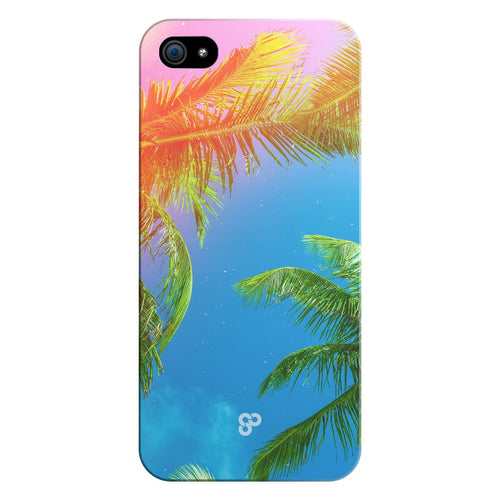 Palm Trees Please - iPhone Case