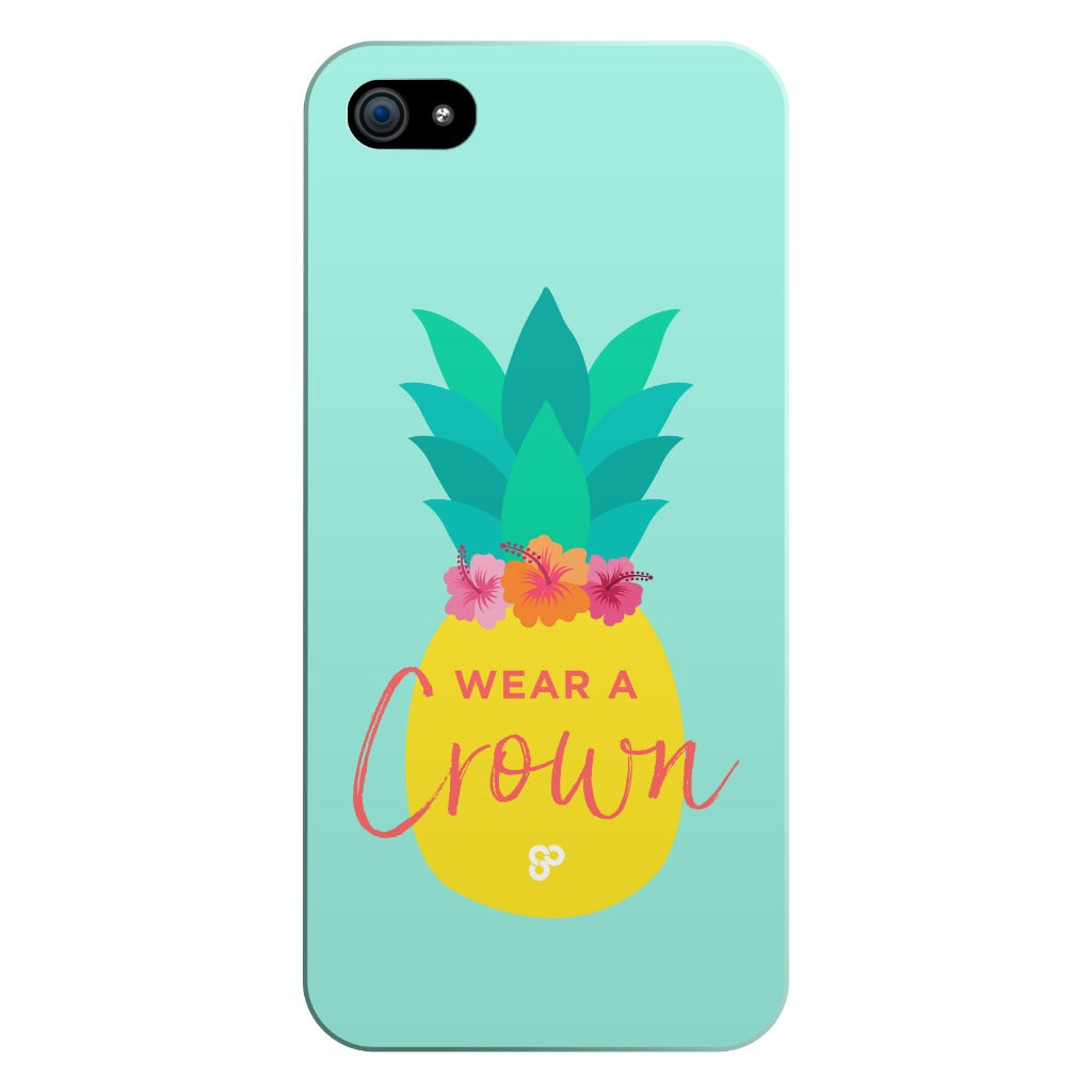 Pineapple Crown - iPhone Case