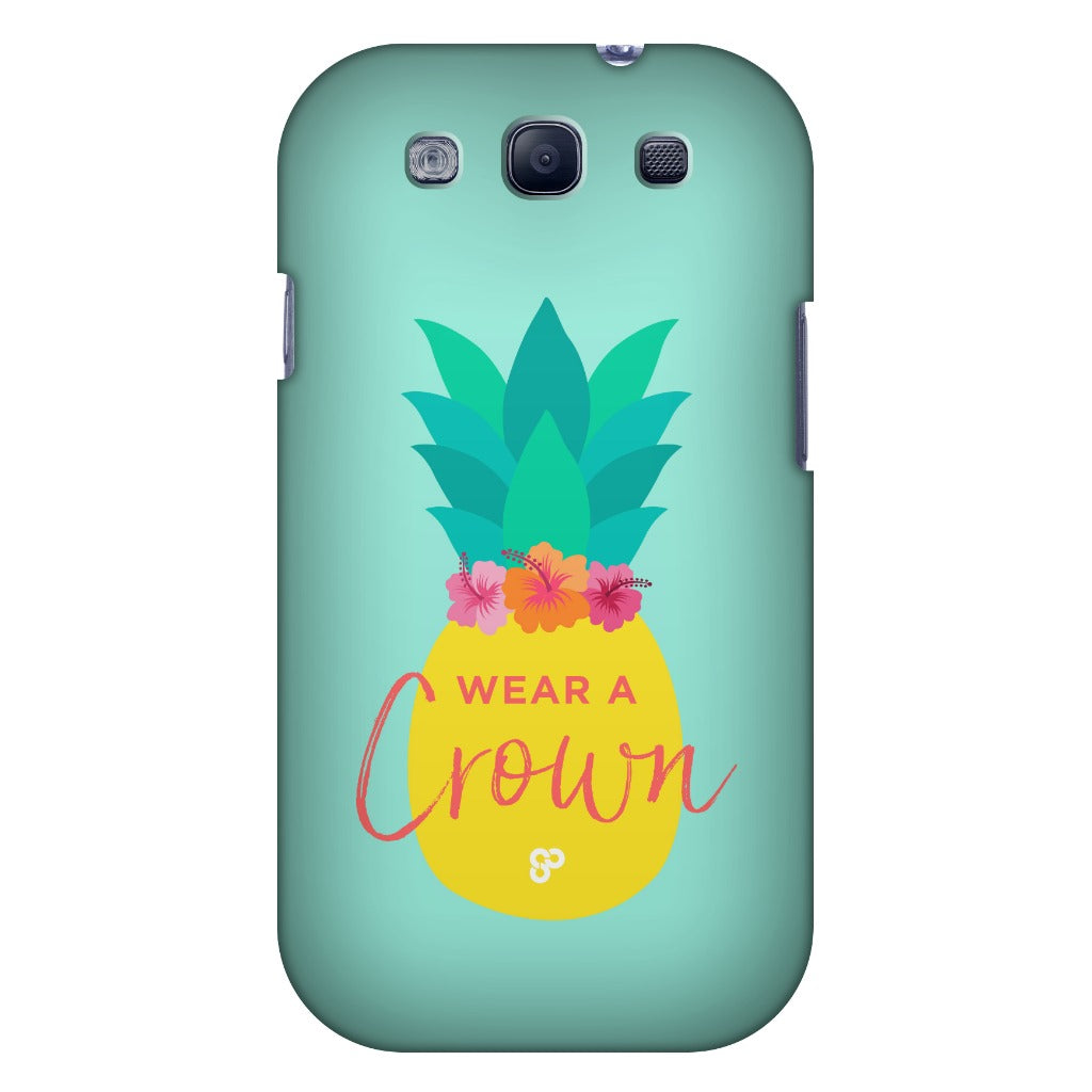 Pineapple Crown - Samsung Case