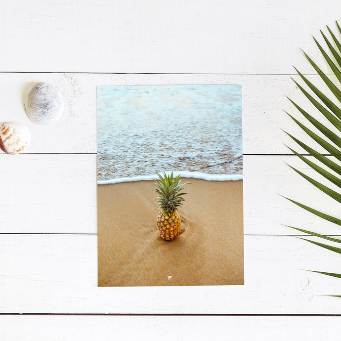 Salty Pineapple - Art Print