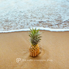 Salty Pineapple - Art Print - 8x10 11x14 16x20 24x36 - The Salty Pineapple Shop - Wall Art Home Decor Tropical Beach Colourful House Interior Photography Poster Modern Coastal Pineapple Fruit Ocean Wave Nature Cute Love Hawaii Film Vintage Fun Happy Summer