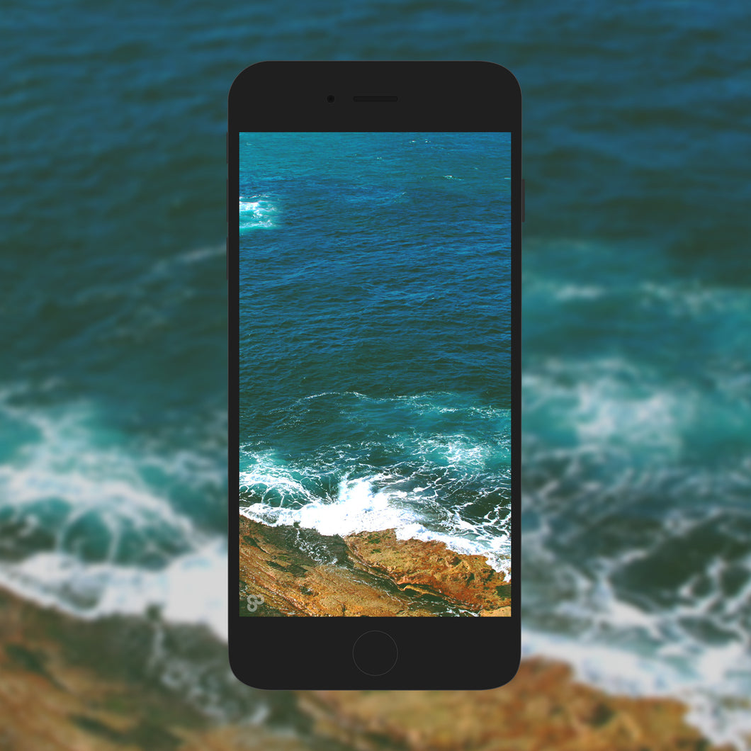 Salty Seas - Phone Wallpaper