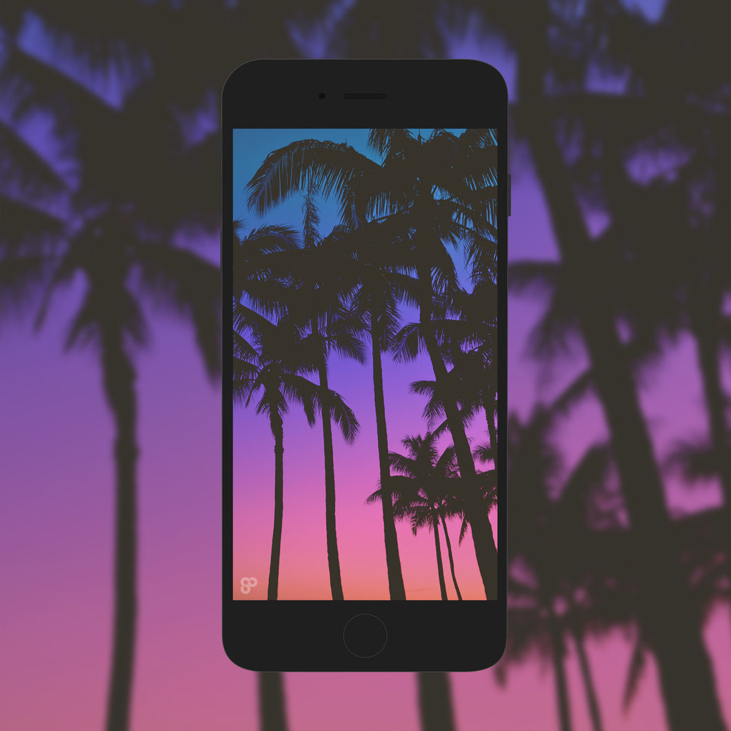Tropical Vibes - Phone Wallpaper