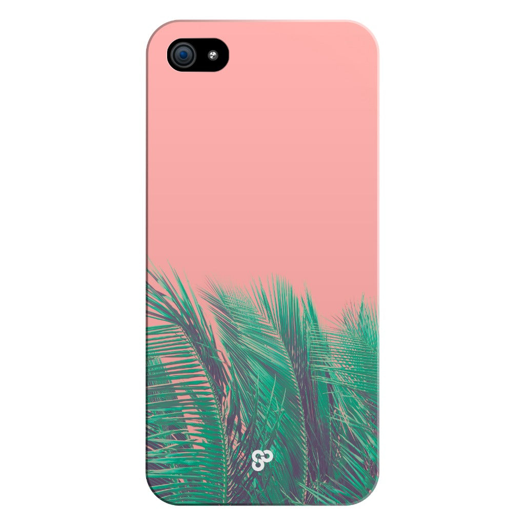 Coral Palms - iPhone Case