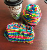 Crazy Hat Skeins - MollyGirl Rock Star - Mini Kit - Includes A Free Pattern & Stitch Marker!
