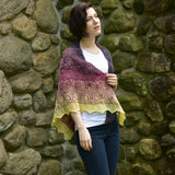 Berry Crumble Shawl - A Pattern By Xandy Peters