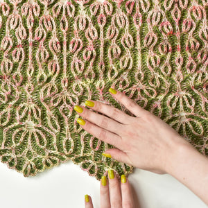Blooming Brioche - A Pattern By Xandy Peters