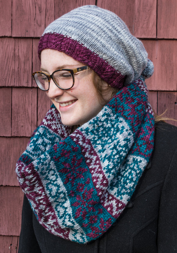 Footprints Infinity Scarf