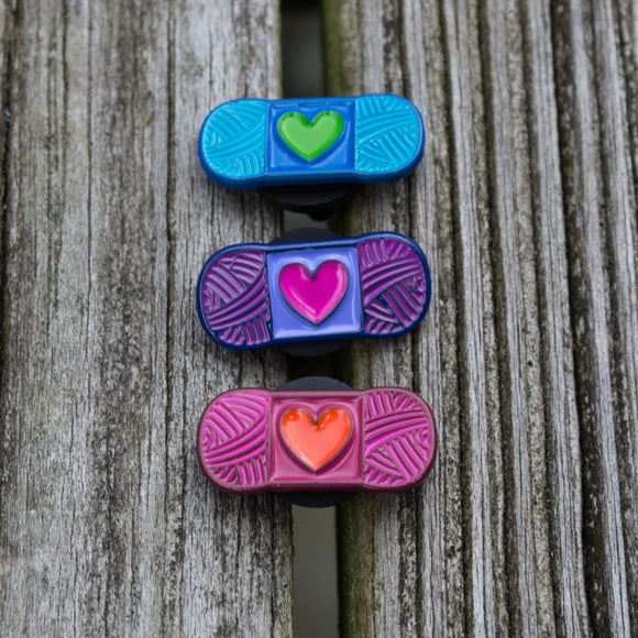 YarnLove Mini Skeins Enamel Pin - Set of 3 Mini Pins