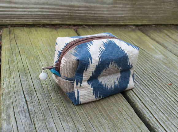 Bitty Box Bag - Teal Safari