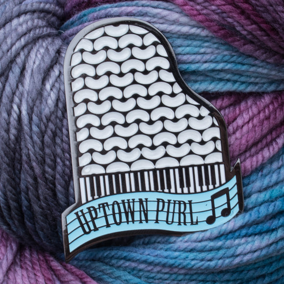 LIMITED EDITION - Spotlight: Vol. IV Enamel Pin - Uptown Purl