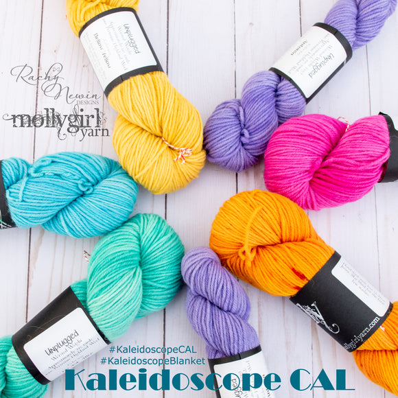 Kaleidoscope Afghan Collaborative CAL - Rock Star - An Exclusive Kit From Rachy Newin Designs