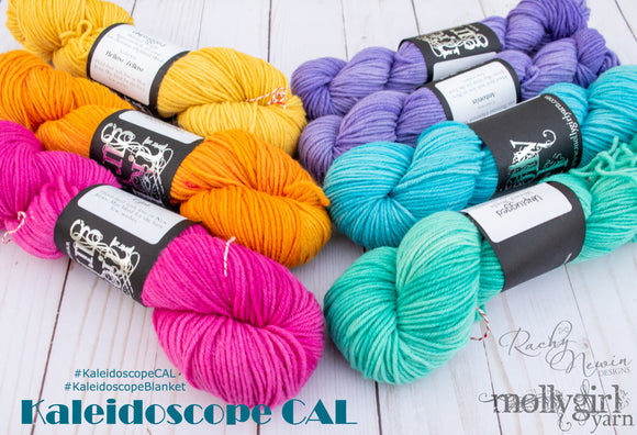 Kaleidoscope Afghan Collaborative CAL - Unplugged - An Exclusive Kit From Rachy Newin Designs