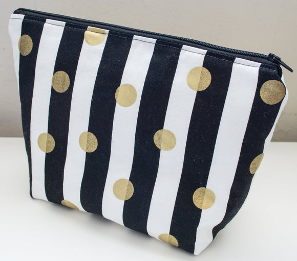 Petite Project Bag - Classy Stripes