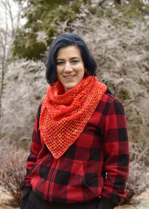 Geo Mesh Cowl - A Pattern By Xandy Peters