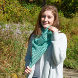 Geo Mesh Cowl - A Trio DK Mini-Kit From Xandy Peters