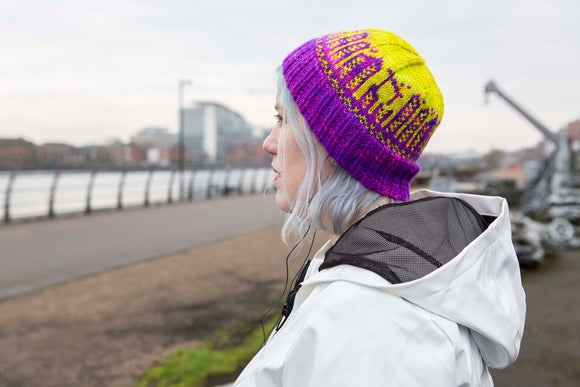 Boomtown Beanie - A Pattern from Yarnison Designs